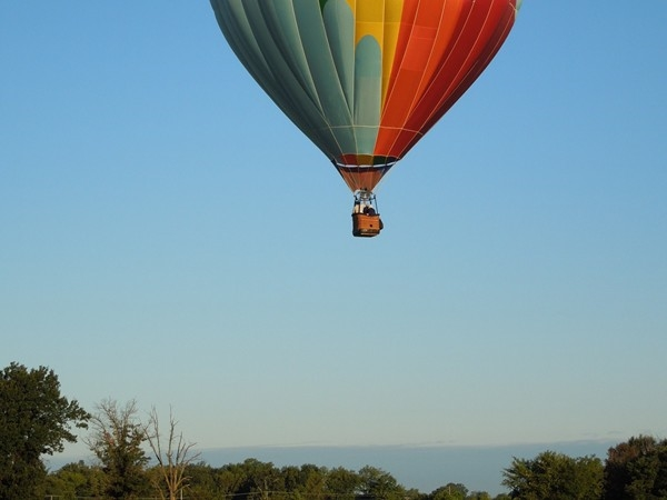 Balloon ride over the Ozarks