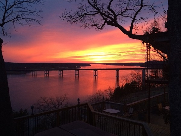 There is nothing like a Lake of the Ozarks sunset