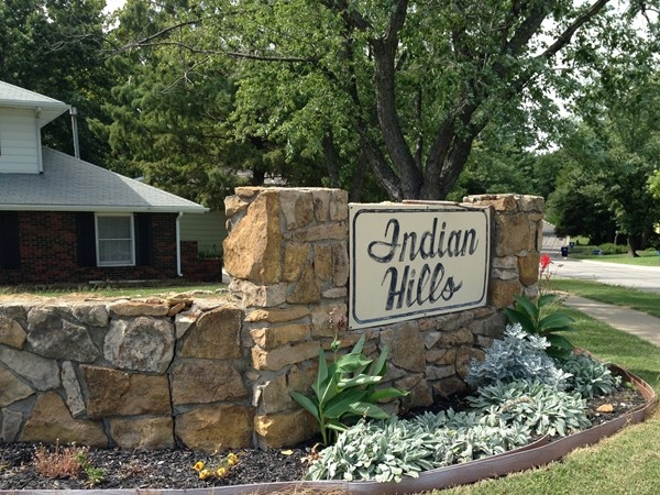 Welcome to Indian Hills neighborhood in Lawrence