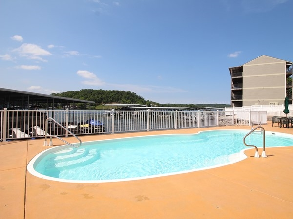 Relax poolside with a view at Newport