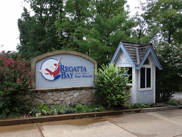 Entrance to Regatta Bay Condominiums in Four Seasons