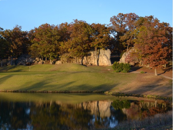 Signature hole at Indian Rock Golf Club