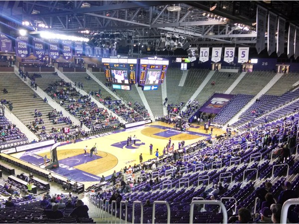 Bramlage Coliseum at Kansas State University