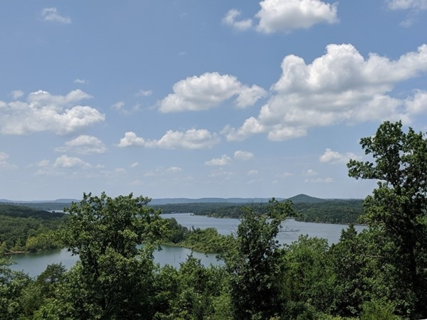 Main channel views on Table Rock Lake