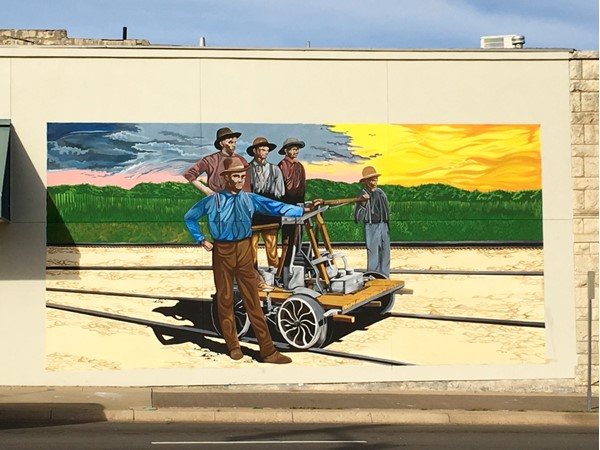 Mural on 6th Street in Downtown Junction City