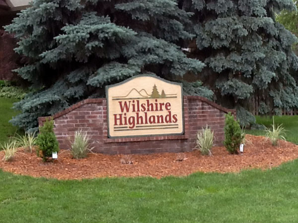 Wilshire Highlands Subdivision