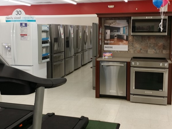 More appliances at Sears in Newton