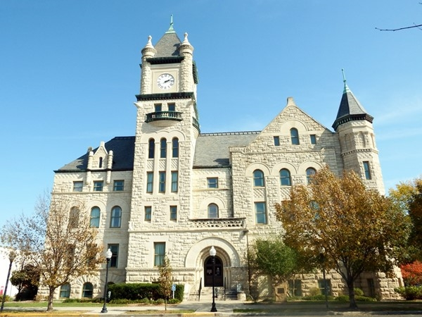 Douglas County Courthouse in Downtown Lawrence