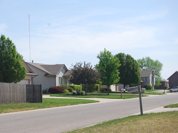 This neighborhood is close to the Prairie Wind Park
