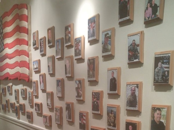 Survivor Outreach Services Wall of Heroes. Thank you for your service and sacrifice