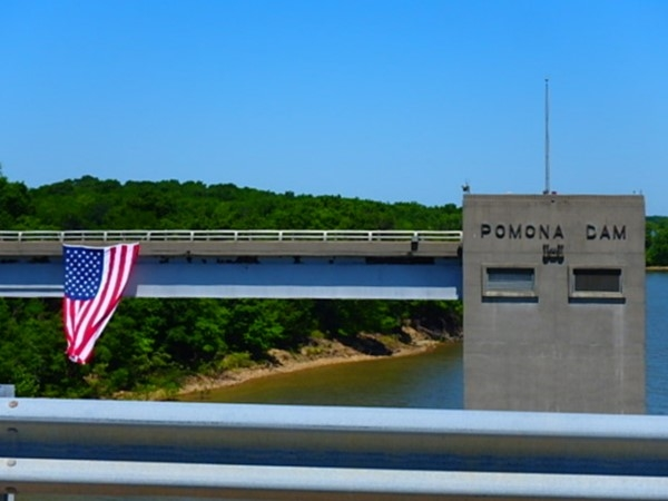Memorial Day 2017 American Legion flew the flag at Pomona Lake