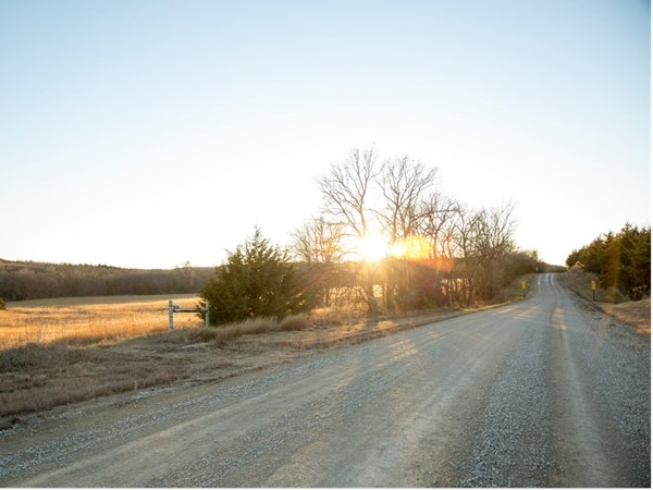 Sunset on Wildcat Creek Road