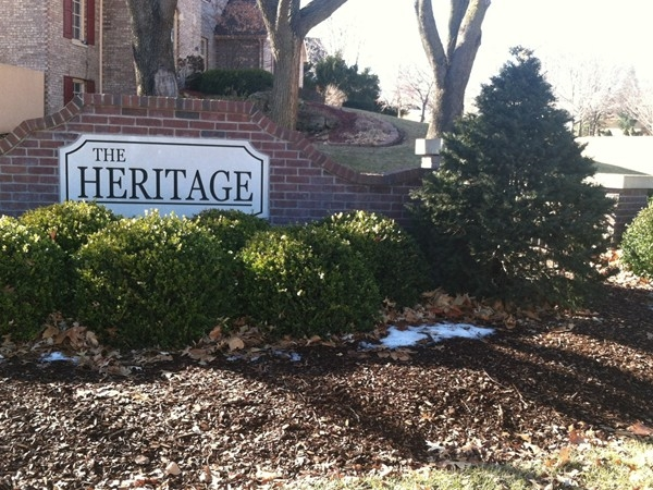 Heritage at Alvamar Sign