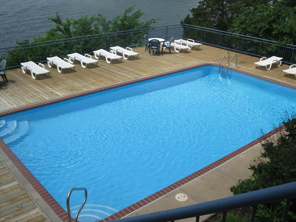 Pool #4 is the smallest and most private. It can be reserved for private parties as an owner