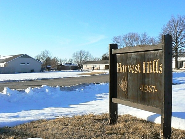 Harvest Hills subdivision, established in 1967, is located in the north end of Buhler
