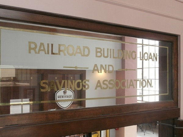 Railroad Building Loan and Savings Association was built in 1925, nearly 90 years ago
