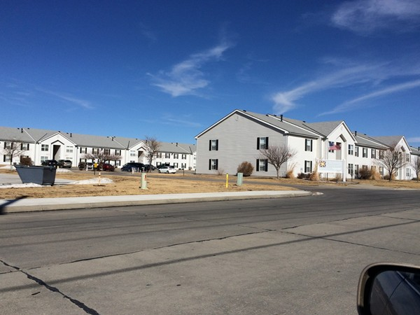 Sunrise Apartment Complex is one of the newer developments in Hays, KS