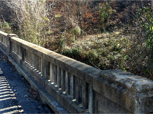 Old Bridge in Linn Creek built in 1930