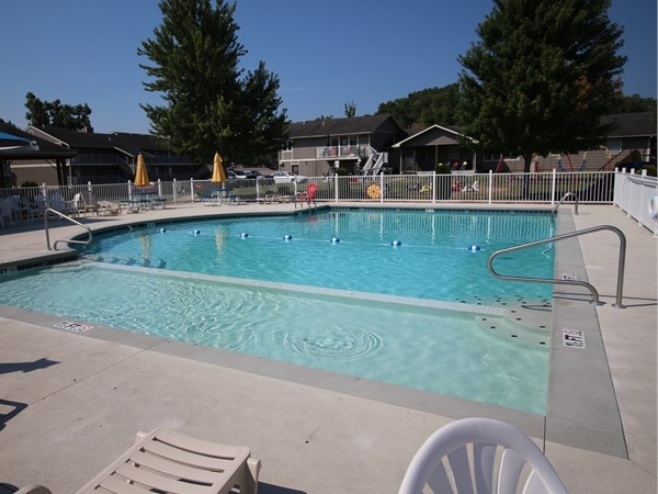Kick back and enjoy the awesome pool at Lazy Days