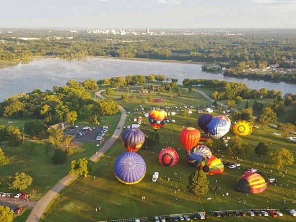 40th Annual Huff 'n Puff Balloon Rally