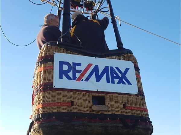 RE/MAX Hot Air Balloon at Lincoln Elementary School