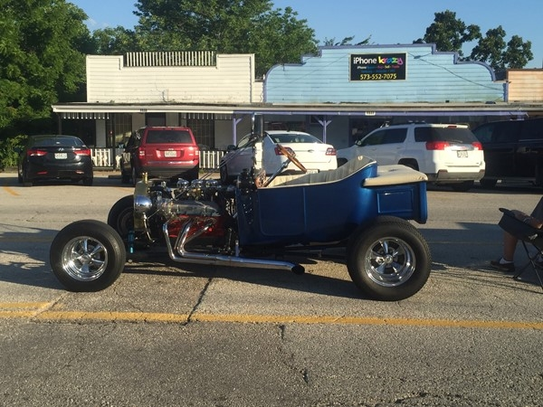 Hot Summer Night Car Show on The Bagnell Dam Strip in Lake Ozark