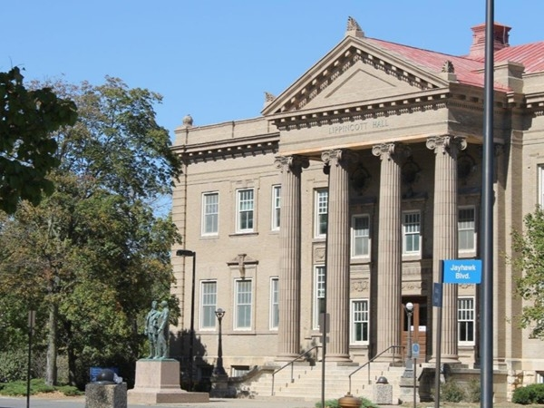 Lippincott Hall at KU