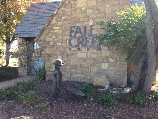 Welcome to Fall Creek Farms in Lawrence