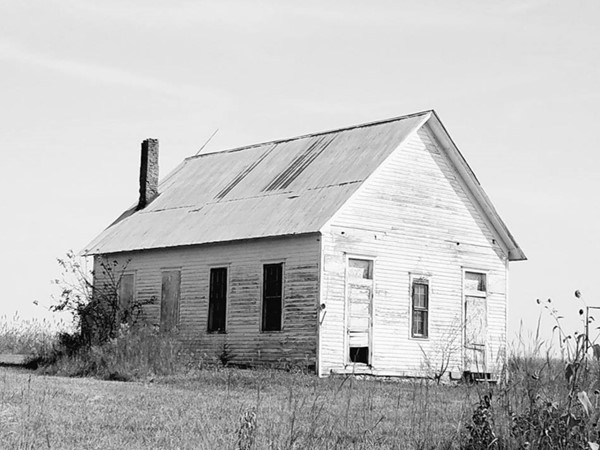 Old schoolhouse in Northwest Osage County