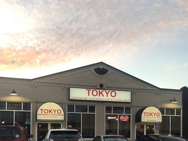 Tokyo Japanese Steakhouse and Sushi Bar. Located on East Chestnut