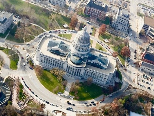Such an incredible vantage point of our Capitol Building here in Jefferson City