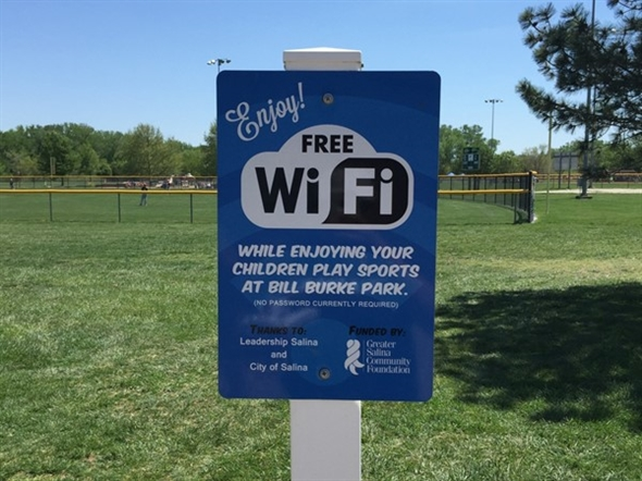 Bill Burke Baseball Fields. Wifi available while attending games