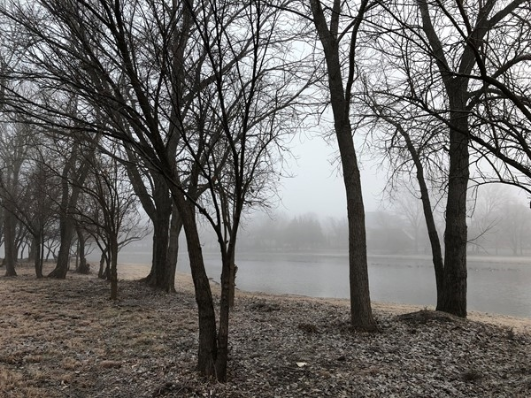 Foggy this morning in Wichita