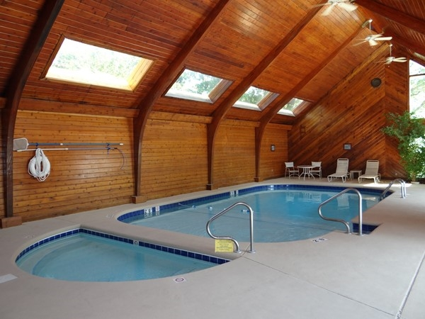 Indoor pool at the Knolls