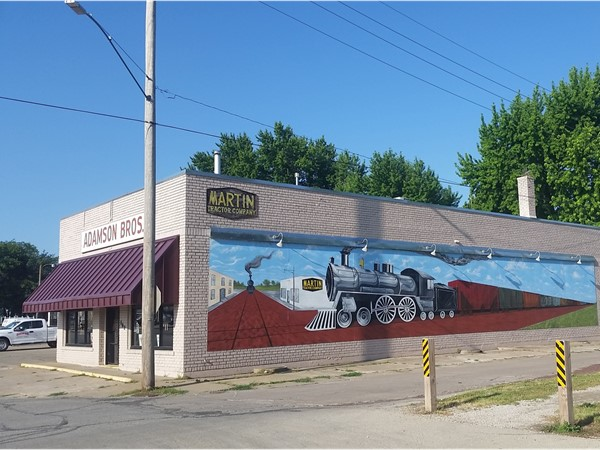 Great mural for Martin Tractor Company