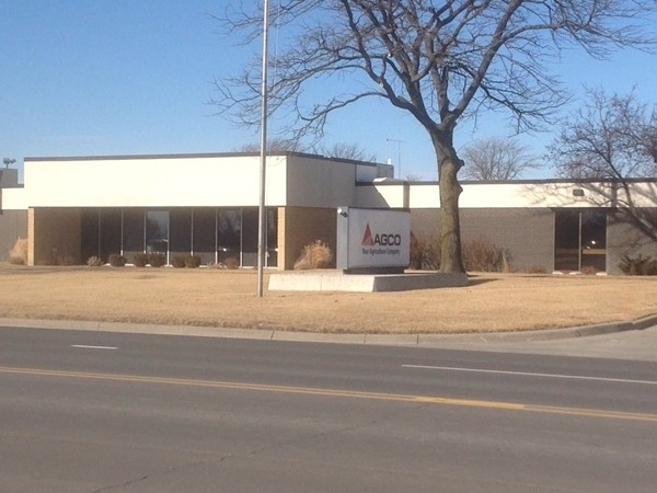 Agco is the largest manufacturing plant in Hesston