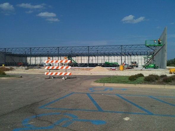 New Hobby Lobby under construction