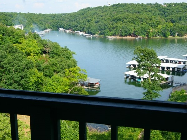 Beautiful views from your deck at Steeple Ridge