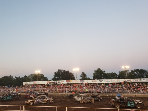Demolition Derby at the Ottawa Fair