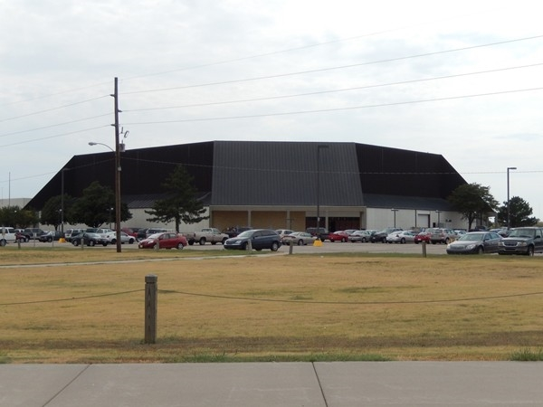Gross Memorial Colesium, at Fort Hays State University, offers many sporting events