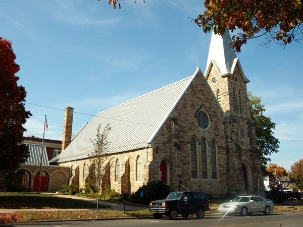 Trinity Episcopal Church in Downtown Lawrence