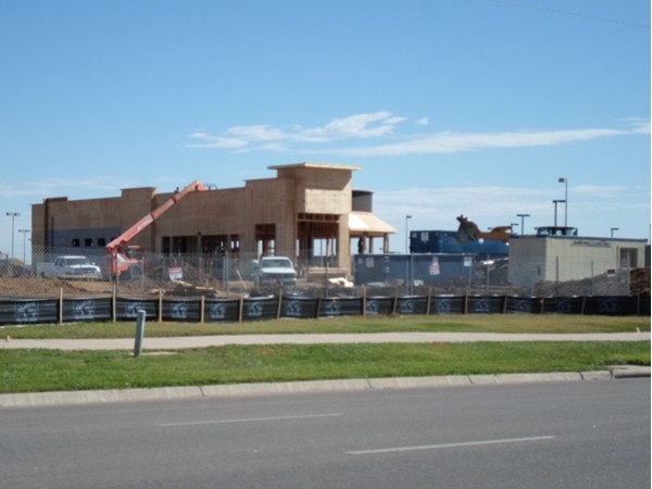 Progress on Chik-Fil-A in Derby