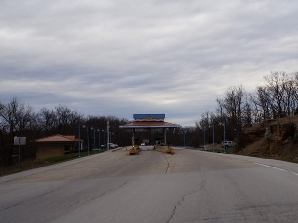 Toll Booth at the Community Bridge at Lake of the Ozarks