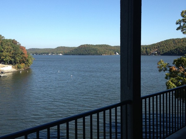 Beautiful lake view from Mission Bay - one of Lake of the Ozarks newest villa projects