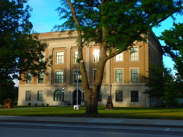 Osage County Courthouse - love taking pics thru the seasons of this stately old landmark
