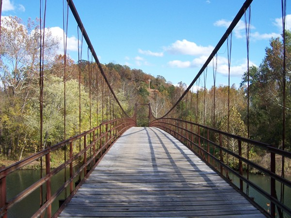 Swinging Bridge at Lake of the Ozarks State Park