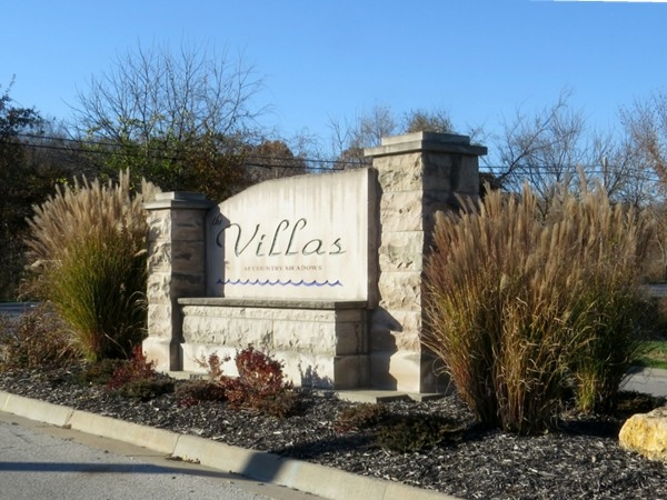 The Villas at Country Meadows entrance