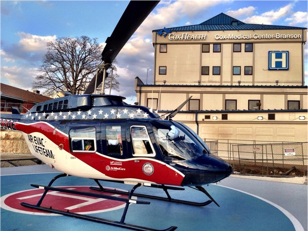 Medical Air Evac Lifeteam at Branson Hospital