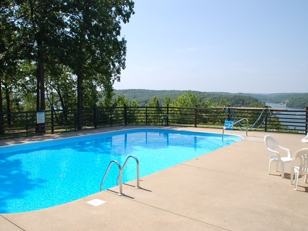 Pool at the Sylvan Bay Subdivision