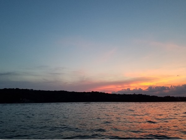 Another beautiful sunset at the Lake of the Ozarks